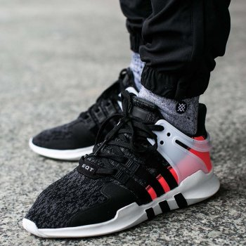 Adidas EQT Support ADV Core Black/Turbo Red