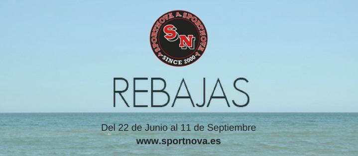 Rebajas de verano en Sportnova